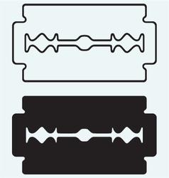 Blade razor vector image vector image