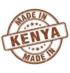Made in kenya vector