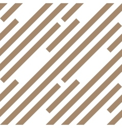 Seamless geometric pattern stripy texture vector