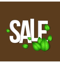 Sale typography background vector