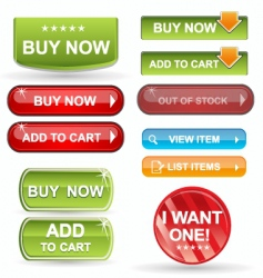 Web icons  buy items vector