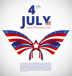 Independence day of 4th july vector