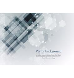 Modern hi-tech backdrop template vector image