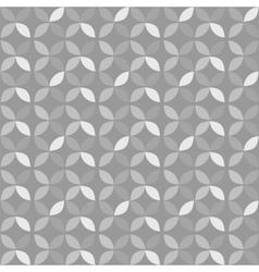 Seamless circle retro pattern vector