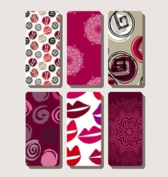 Set of phone case6 vector