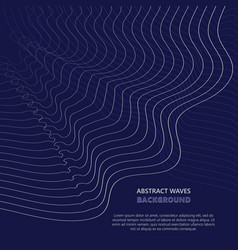 Abstract waves transparent wave vector