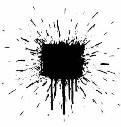 Splatter element vector