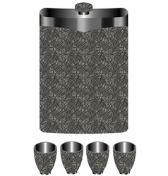 Hip flask vector