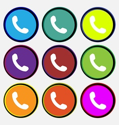Phone support call center vector