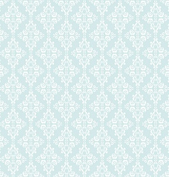 Seamless pattern with damask elements vector