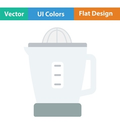 Citrus juicer machine icon vector