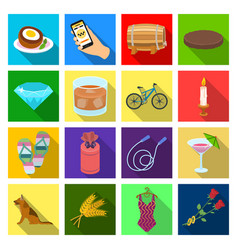 Business travel sea and other web icon in flat vector