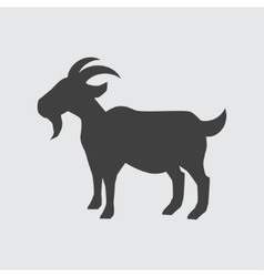 Goat icon vector