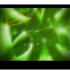green mosaic background vector image vector image