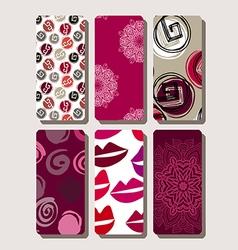 Set of phone case6 vector