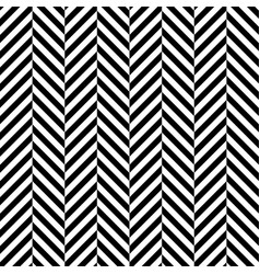 zigzag chevron seamless pattern background vector image vector image