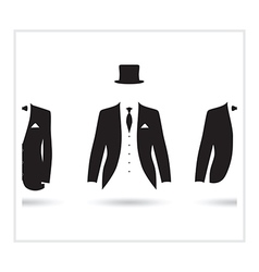 Posh suit selection vector