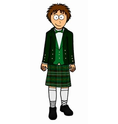 Mens north ireland clothing vector