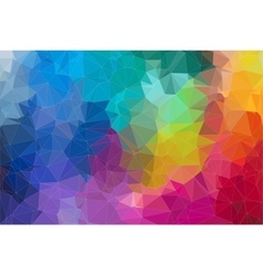 Abstract 2d mosaic triangle background vector