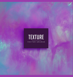 Abstract purple watercolor texture paint vector