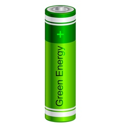 battery vector image vector image