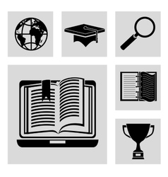 education concept design vector image vector image
