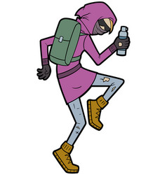 graffiti urban street artist vector image