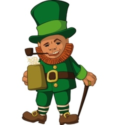 Leprechaun color vector image vector image