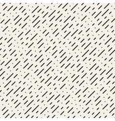 Seamless black and white diagonal dashed vector