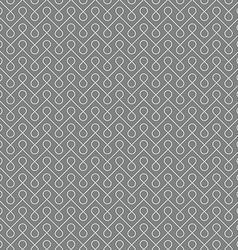 Thin linear seamless patern background White and vector image vector image