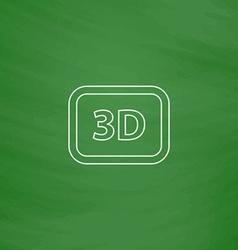 Three dimensional computer symbol vector