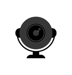 Webcam computer device vector