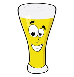 Happy beer vector