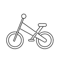Bicycle travel sport toy sport kids transport vector