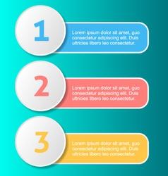Options progress banners vector image vector image