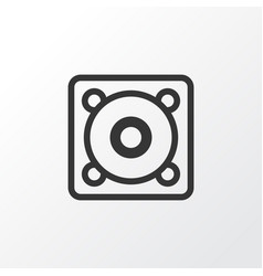speaker icon symbol premium quality isolated vector image vector image