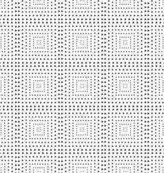 Textured with rotated triangles squares vector image vector image