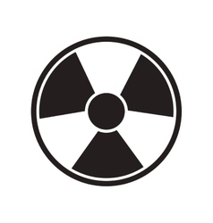 Toxic and nuclear icon vector