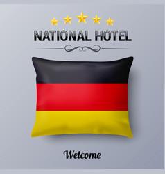 National hotel vector