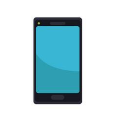 smartphone digital display connection vector image