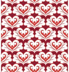 heartspattern vector image vector image