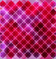 Seamless pink pattern of squares vector