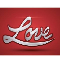 Love digital design vector