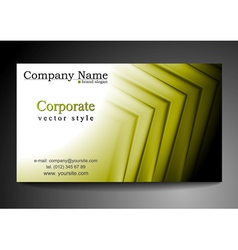 Abstract vibrant tech business template vector image vector image