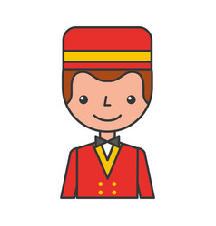 boybell avatar character icon vector image