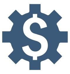 Dollar options flat icon vector