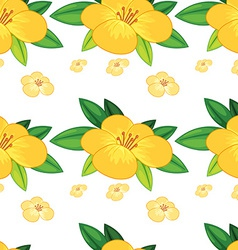 Seamless flower vector image vector image