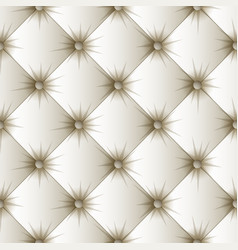 White upholstery texture seamless pattern vector