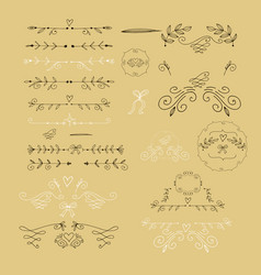 set of elements35 vector image