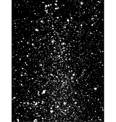 Graffiti paint splatter pattern in white on black vector